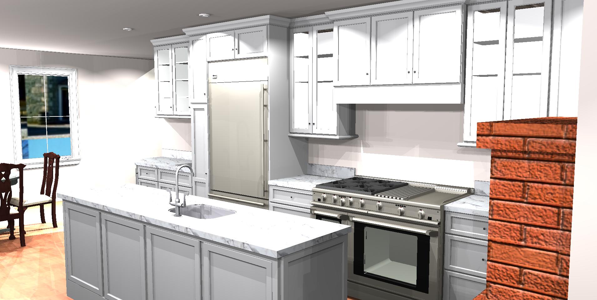 Custom and Semi-Custom Kitchens (Full-Frame to Frameless/European)  