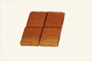 OCB Wooden Coasters (set of 4)